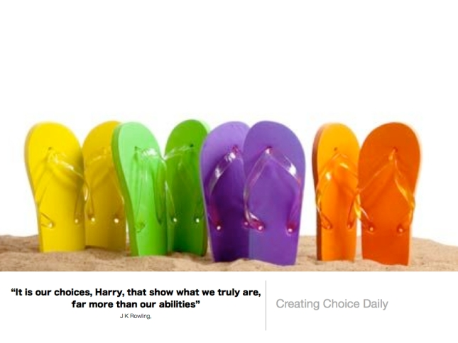 269 Creating Choice